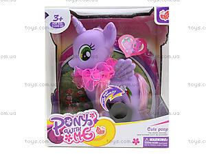 Игрушечный пони с аксессуарами Pony, 0186-18, игрушки