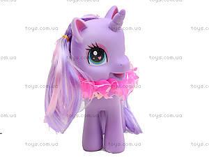 Детский пони с аксессуарами для волос, 0186-19, купить