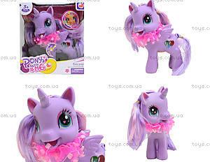 Детский пони с аксессуарами для волос, 0186-19
