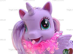 Детский пони с аксессуарами для волос, 0186-19, отзывы