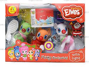 Детский набор пони «Новый год», E3021E, цена