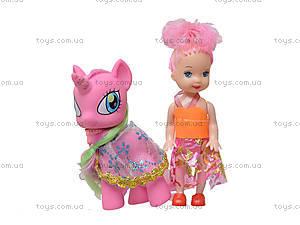 Игровой набор с куклами и пони, E3006, купить