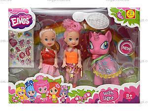 Игровой набор с куклами и пони, E3006, игрушки