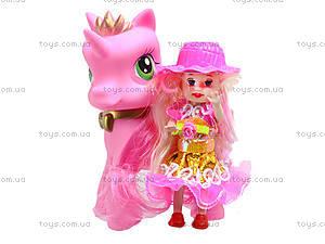 Игровой набор для девочек «Пони с куклой», HH8688-A2, купить