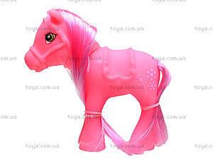 Детская лошадка «Пони с гривой», 11853, фото