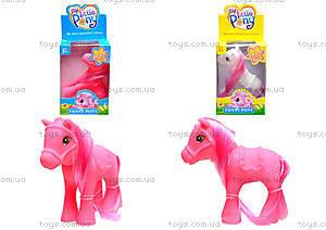 Детская лошадка «Пони с гривой», 11853