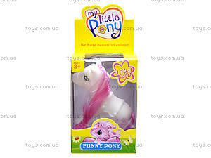 Детская лошадка «Пони с гривой», 11853, игрушки