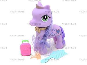Игрушечный пони для девочек «Сирень», 029, игрушки