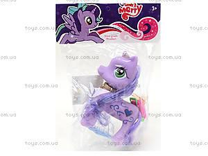 Игрушечный пони для девочек «Сирень», 029, toys.com.ua