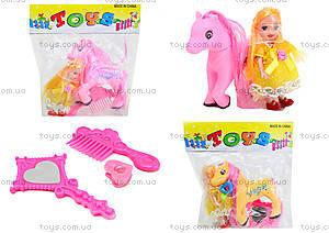 Игровой набор для девочек «Кукла и пони», 109