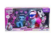 Игровой набор с поним, с аксессуарами, розовый, 88468, toys