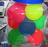 Попрыгунчик резиновый, 5 цветов, 2061-5, фото