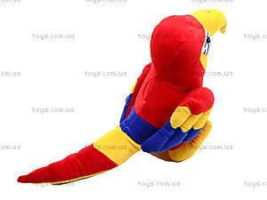 Плюшевый попугай «Жорж», M-CW21062-15, фото