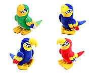 Плюшевый попугай «Жорж», M-CW21062-15