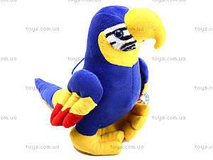 Плюшевый попугай «Жорж», M-CW21062-15, игрушки