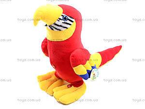 Плюшевый попугай «Жорж», M-CW21062-15, детские игрушки