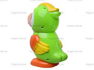 Интерактивный попугай «Умник», 7496, детские игрушки