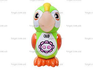 Интерактивный попугай «Умник», 7496, toys