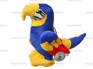 Попугай плюшевый, M-CW21062-1/4, фото