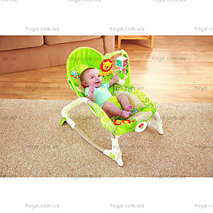 Портативное кресло-качалка «Львенок», BCD28, фото