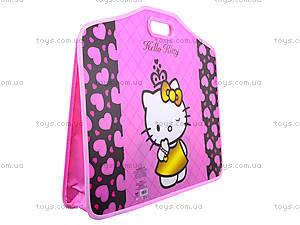 Портфель на липучках Hello Kitty A3, HK13-208K, фото