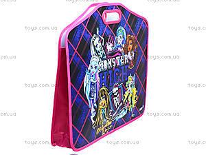 Портфель на липучках для детей Monster High А3, MH14-208K, купить