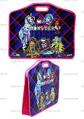 Портфель на липучках для детей Monster High А3, MH14-208K