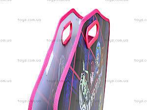 Портфель на липучках для детей Monster High А3, MH14-208K, отзывы