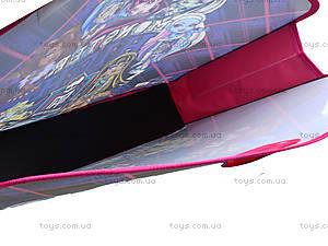 Портфель на липучках для детей Monster High А3, MH14-208K, цена
