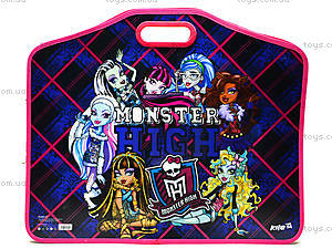 Портфель на липучках для детей Monster High А3, MH14-208K, игрушки