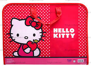 Портфель на молнии Hello Kitty, HK12-206K, фото