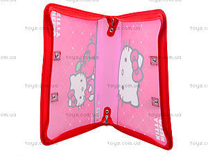 Папка-портфель на молнии Hello Kitty, HK13-202К, фото