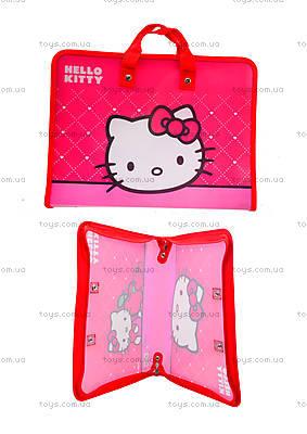 Папка-портфель на молнии Hello Kitty, HK13-202К