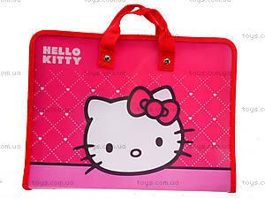 Папка-портфель на молнии Hello Kitty, HK13-202К, отзывы