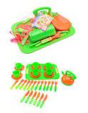 Набор посуды с подносом, 32 предмета, 04-421