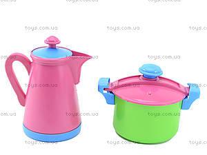 Комплект посуды с подносом и чайником, 04-426, фото