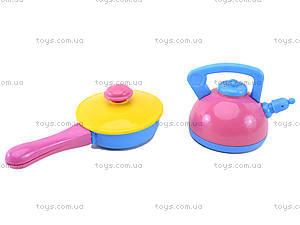 Игрушечная посуда с подносом, 36 предметов, 04-423, купить
