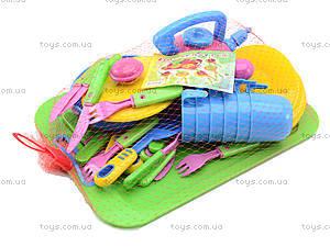Игрушечная посуда с подносом, 36 предметов, 04-423, цена