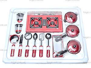 Игрушечная посуда с колпаком и передником, NF5820B-1416, фото