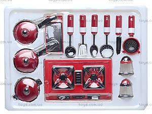 Игрушечная посуда с колпаком и передником, NF5820B-1416, игрушки