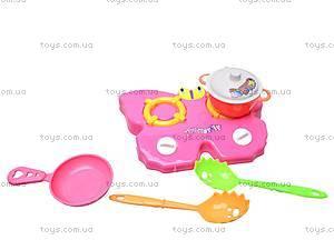 Посуда с плитой детская, G6626, отзывы