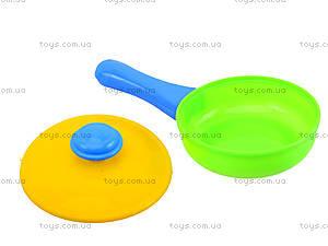 Детский набор посуды в корзинке, 04-435, купить
