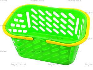 Детский набор посуды в корзинке, 04-435, детские игрушки