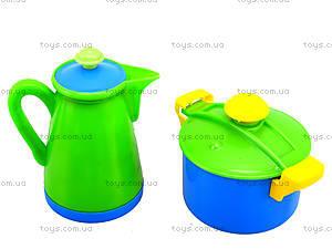 Игрушечный набор посуды в корзинке , 04-436, магазин игрушек