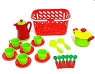 Посуда в красной корзинке, KW-04-437, отзывы