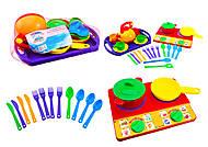 Набор посуды для детей «Юная хозяюшка», 04810