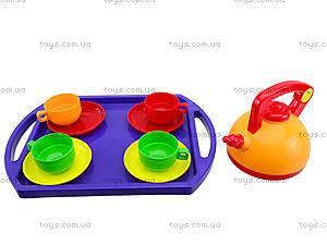 Набор посуды для детей «Юная хозяюшка», 04810, детские игрушки