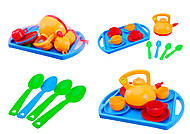 Игрушечный набор посуды «Юная хозяюшка», 04811, фото