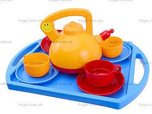 Игрушечный набор посуды «Юная хозяюшка», 04811, цена