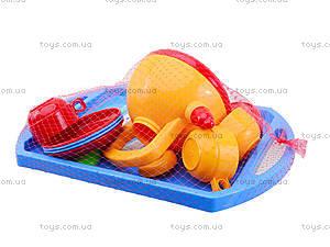 Игрушечный набор посуды «Юная хозяюшка», 04811, детские игрушки